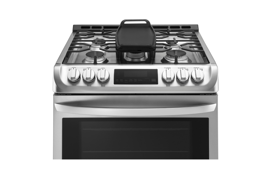 LG 6.3 cu. ft. Gas Slide-in Range with ProBake Convection and ...