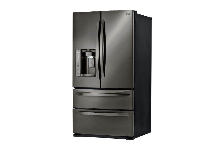 lg black french door refrigerator. with a smart cooling system, this black stainless steel french door refrigerator from rc willey is designed to maintain superior conditions within the lg