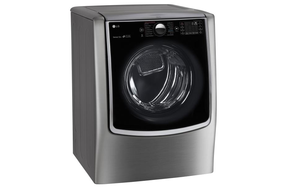 lg twin wash mega capacity 52 cuft turbowash steam washer wsidekick pedestal washer 90cuft steam gas dryer in graphite steel