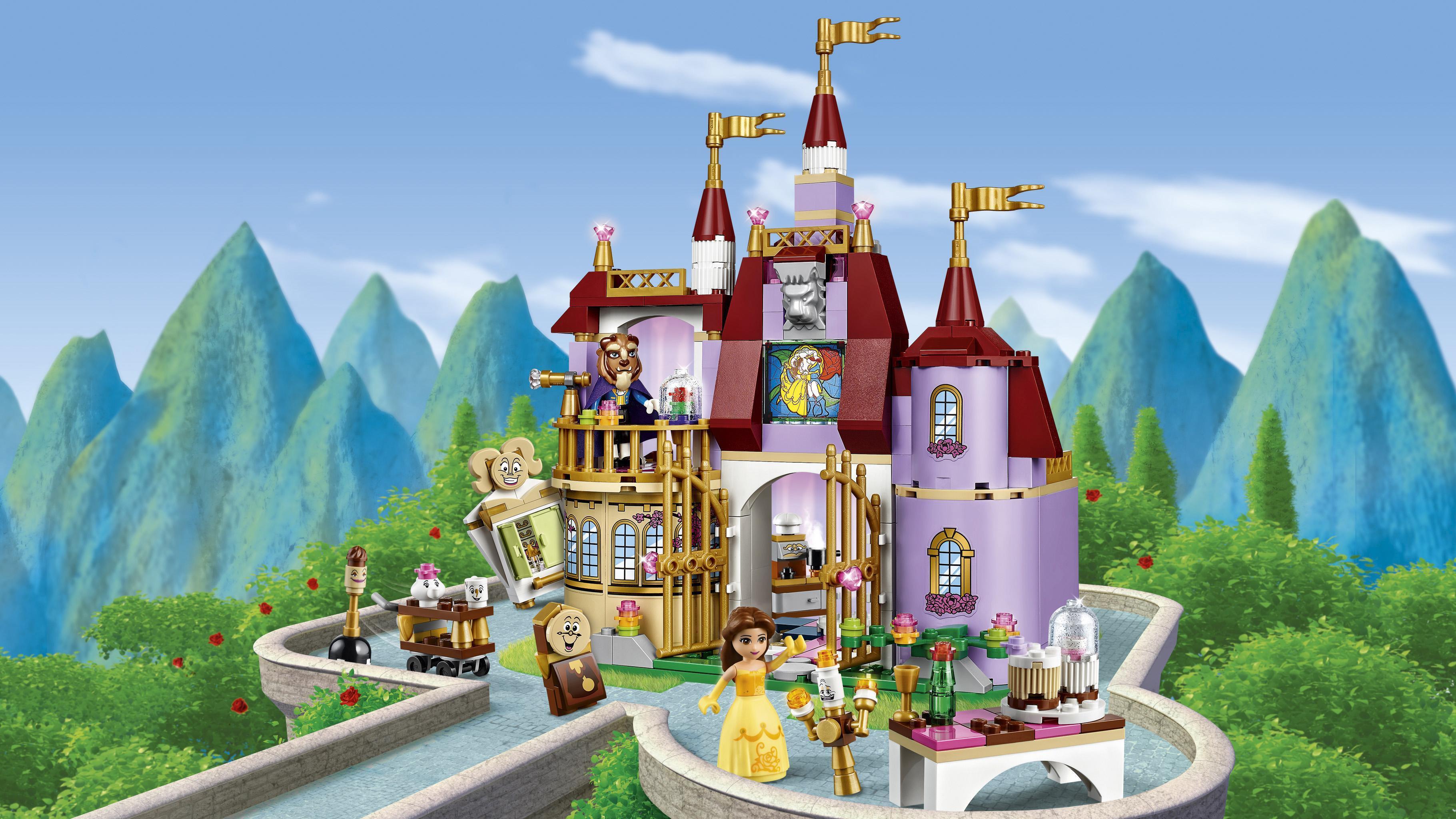 Lego® Et De Princess Château Bête Disney Belle 41067 Le La 3c45RjLAq