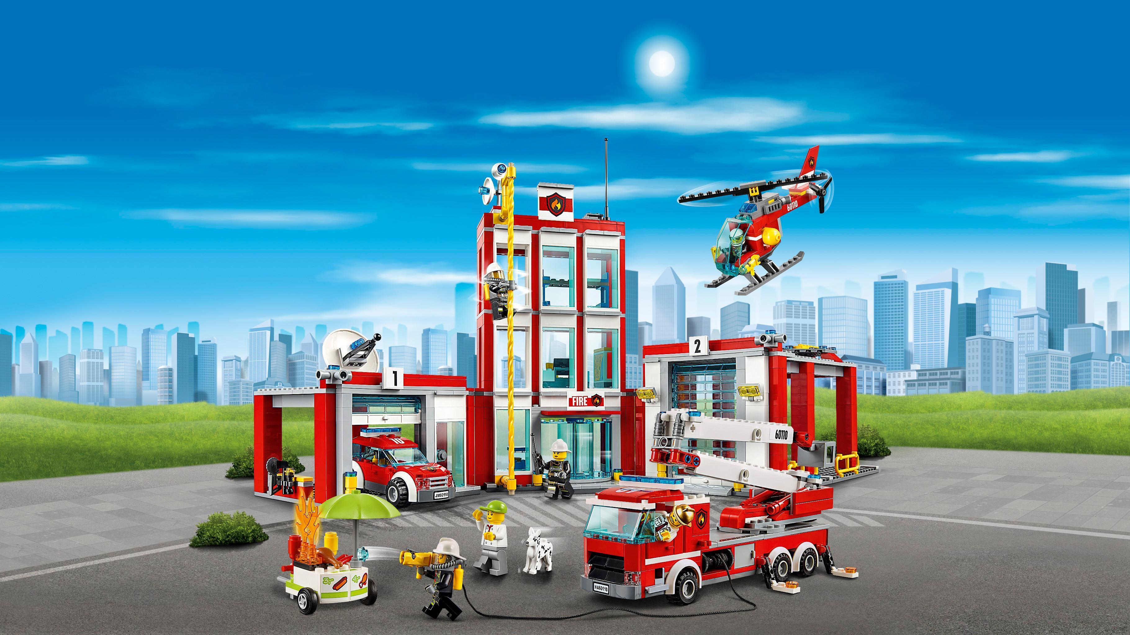 Lego  Estacin de Bomberos Las mejores ofertas de Carrefour