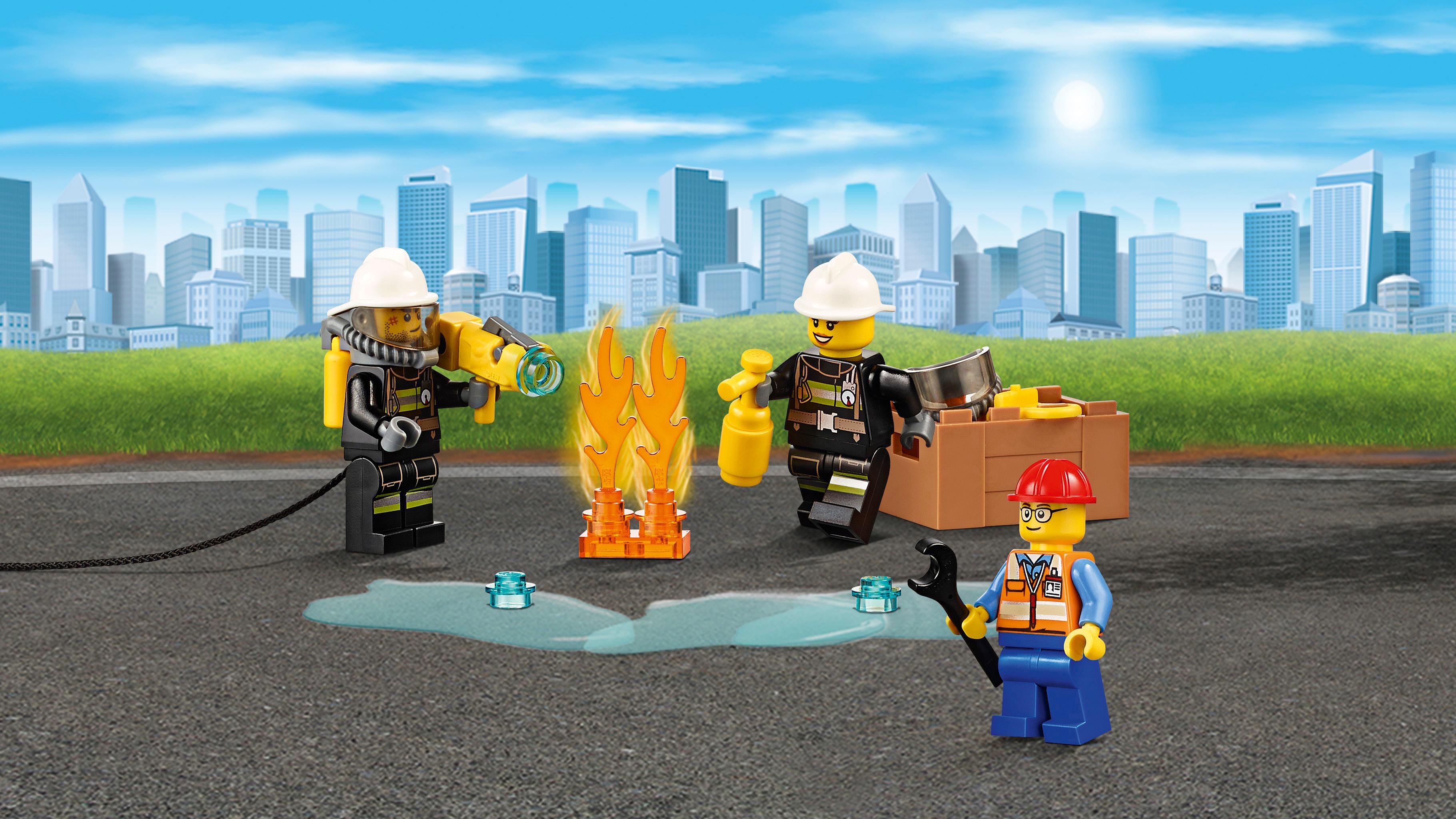Lego  Camin de Bomberos Polivalente Las mejores ofertas de