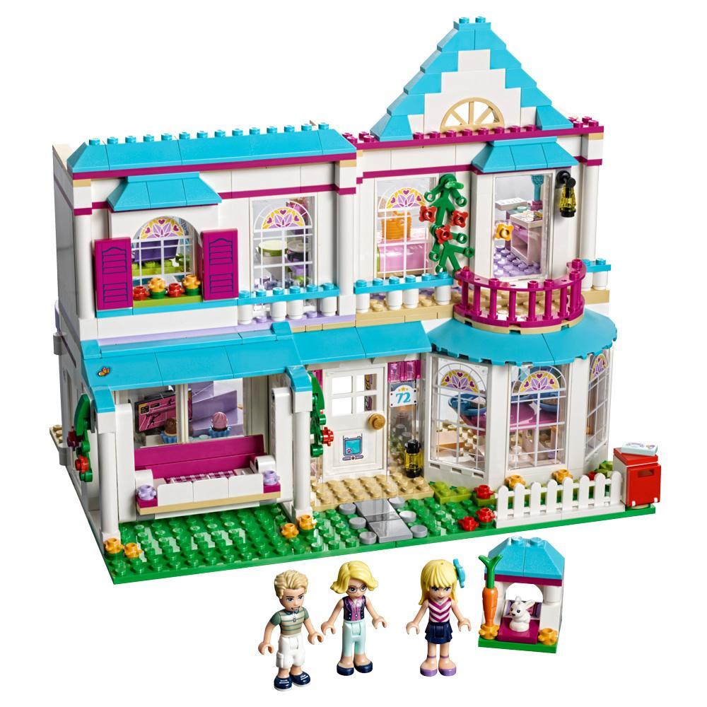 Casa De Stephanie Lego Friends Ensamblaje Hipercor