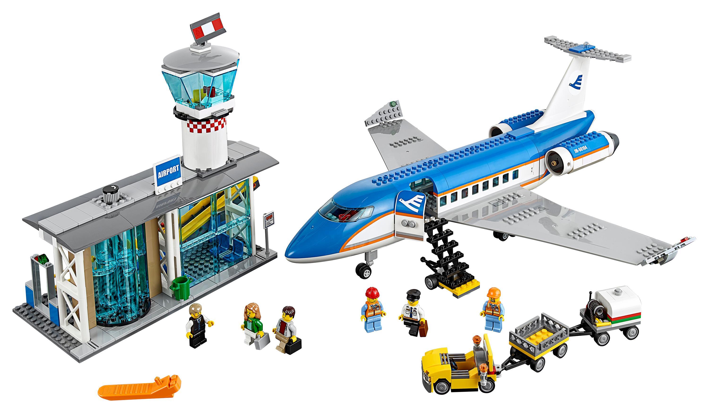 Aeroporto Lego : Lego city airport terminal de passageiros do aeroporto
