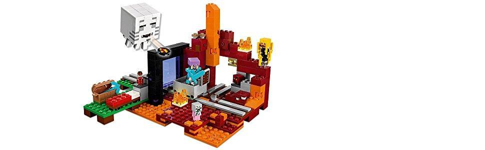 LEGO Minecraft Netherportal Karstadt OnlineShop - Minecraft spiele ohne leben