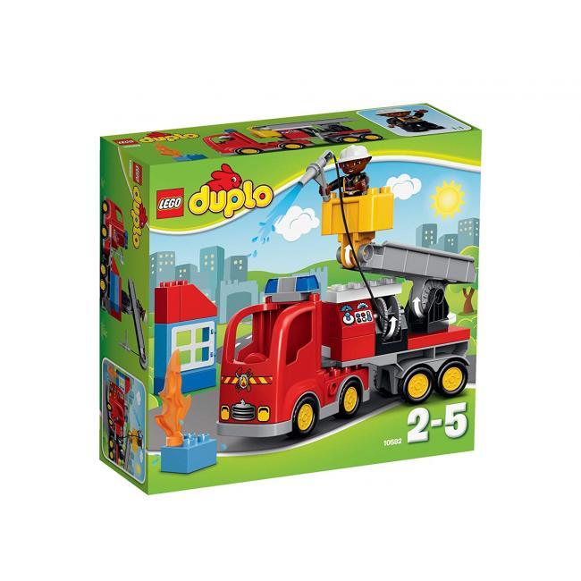 Bomberos · Juguetes Inglés De El Upszmqv Corte Camión Duplo Lego R3AL54j