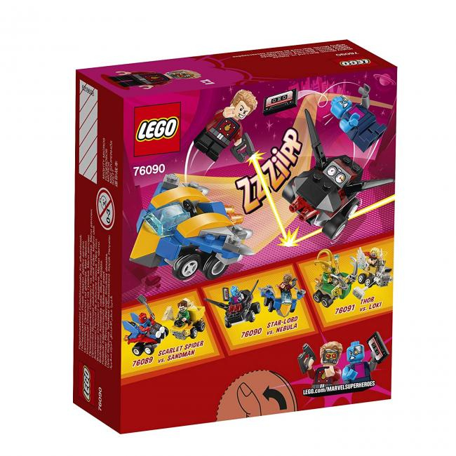 085239c1d Mighty Micros: Star-Lord vs. Nebula Lego Super Heroes · Juguetes ...