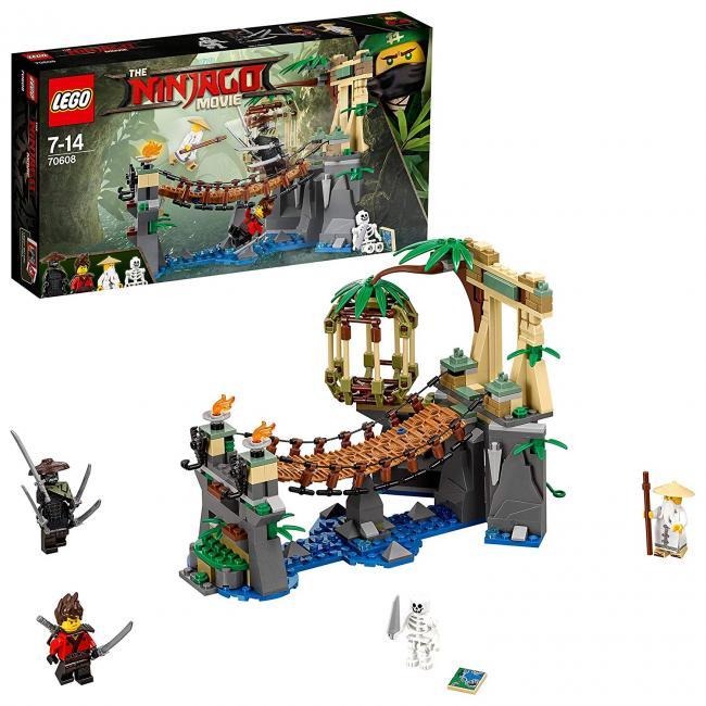 70608 Le Pont De La Jungle, Lego(r) Ninjago(r)   Las mejores ofertas ...