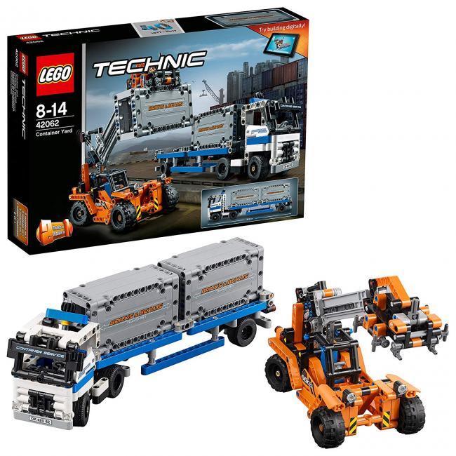 Depósito de contenedores Lego Technic · Juguetes · El Corte Inglés aec9687b52e