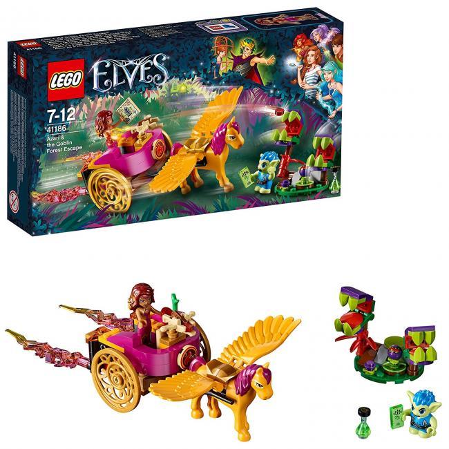 Lego Azari Y La Huida Del Bosque De Los Duendes | Las mejores ...