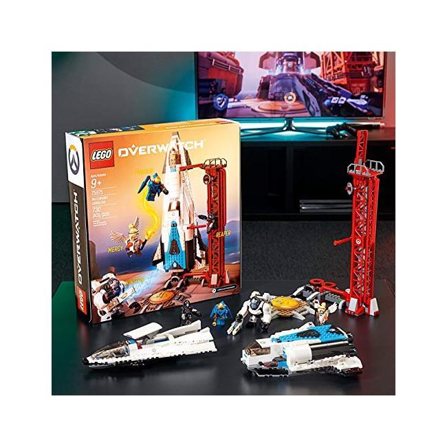 Gibraltar /& 0 € de envío /& nuevo con embalaje original! 75975 watchpoint Lego ® Overwatch