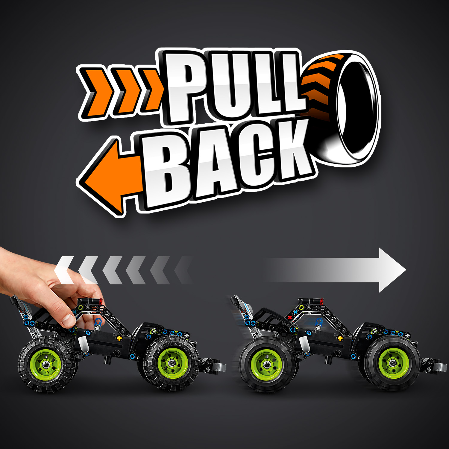 Pull-back action