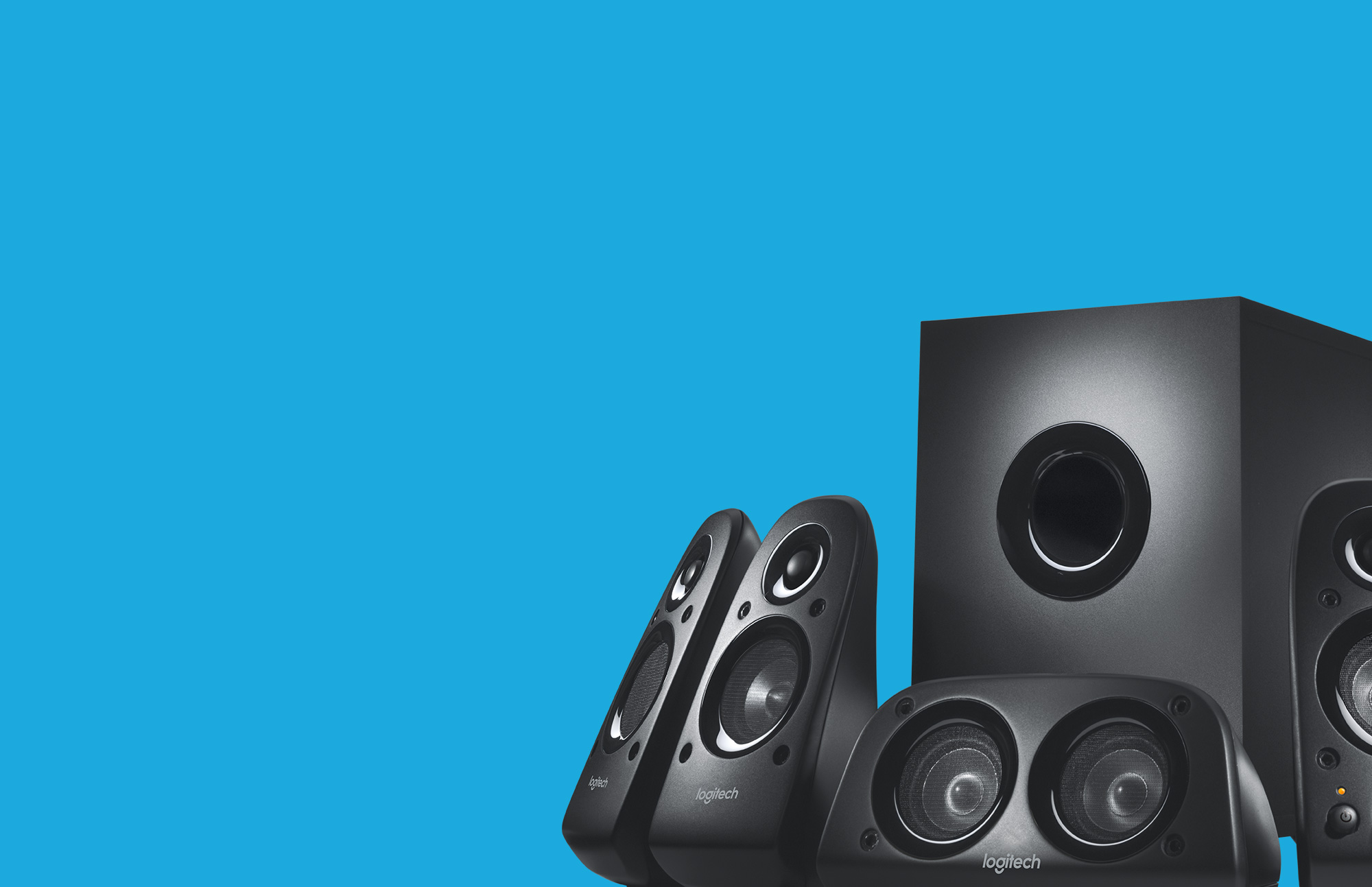 Logitech Z506 Surround Sound Speakers - Noel Leeming