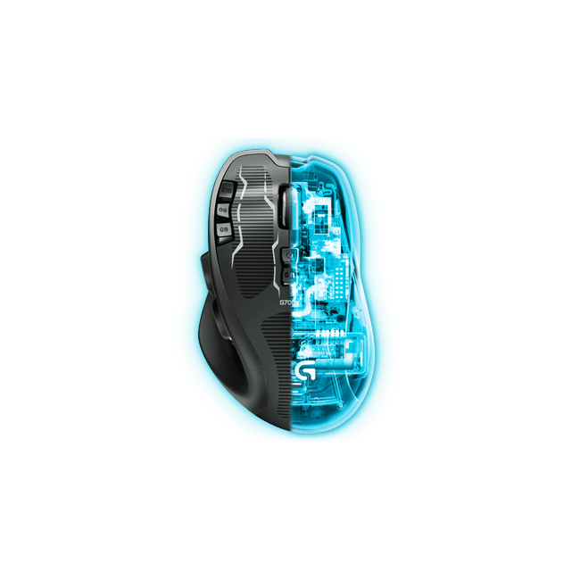Logitech G700s Rechargeable Wireless Gaming Mouse | Xcite Alghanim ...