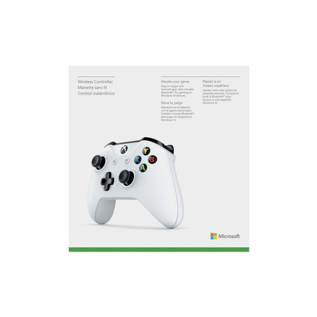 Xbox One Wireless White Controller - Xbox One Accessories UK