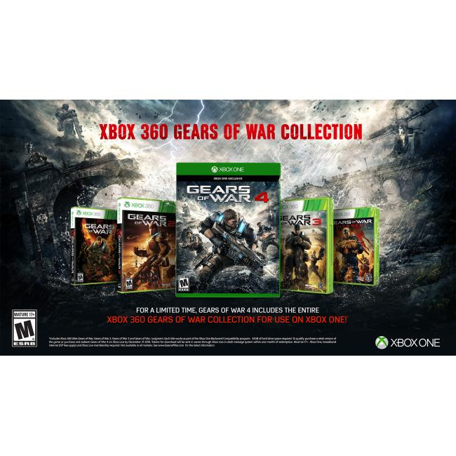 Gears of War Ultimate Edition Xbox One Brand New