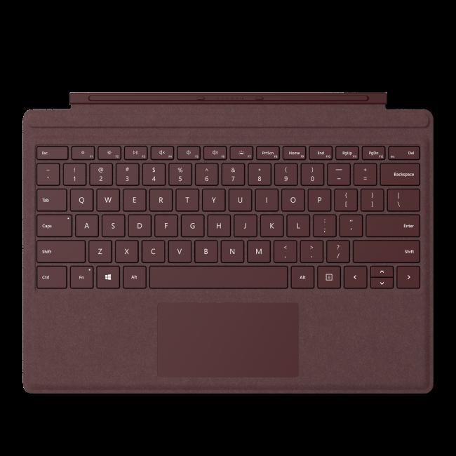 4d0eab573c Funda con teclado platino Microsoft Type Cover Signature para ...