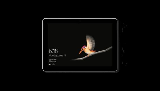 Microsoft surface go 4gb 64gb mhn 00004: tablet comet
