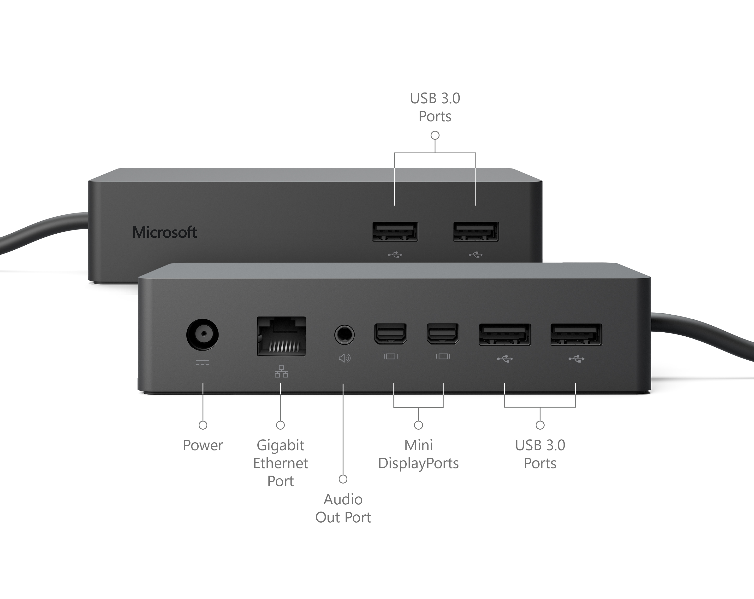 Microsoft Pd9 00003 Docking Station For Surface Pro 4 And