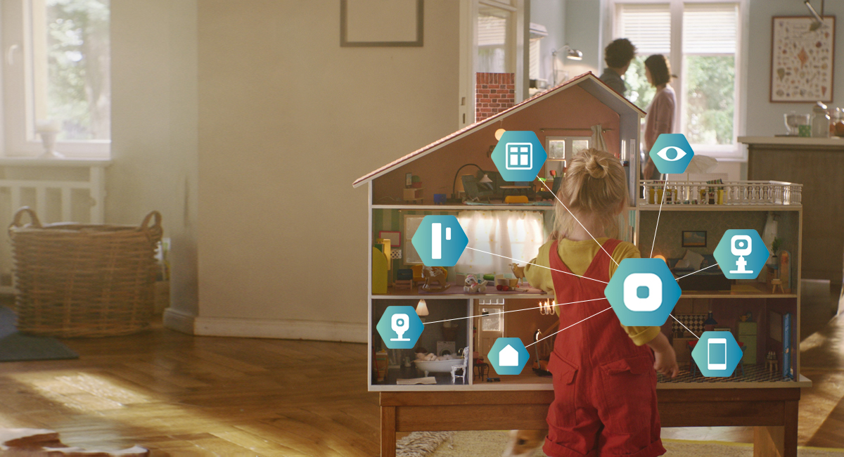 Pack sécurité plus PANASONIC SMART HOME KXHN6011FRW | BeDigital.fr