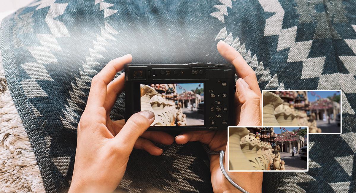 LUMIX Digital Camera DC-TZ220 Black
