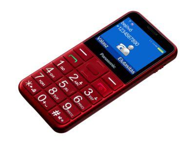 PANASONIC KX-TU150 fekete kártyafüggetlen mobiltelefon időseknek ... b696b92167