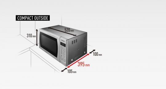 Panasonic Nn Ct585s Freestanding