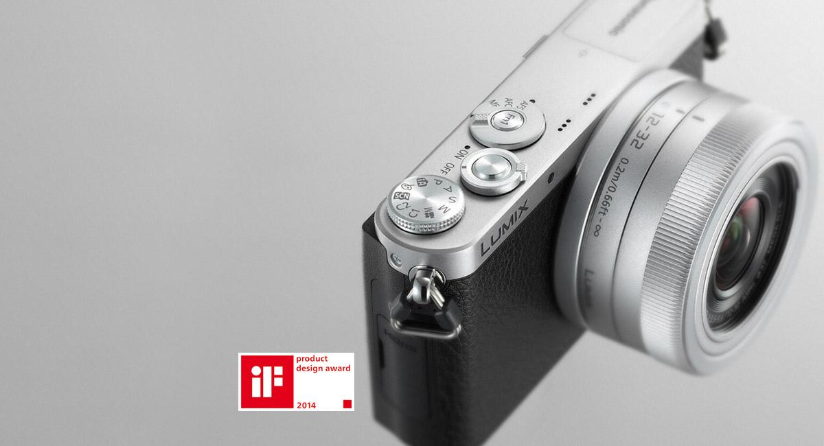 Panasonic DMC-GM1KEG-D (12-32mm) Digitale Systemkamera orange ...
