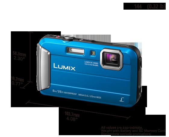 DMC-FT30EB-A Digital Still Camera