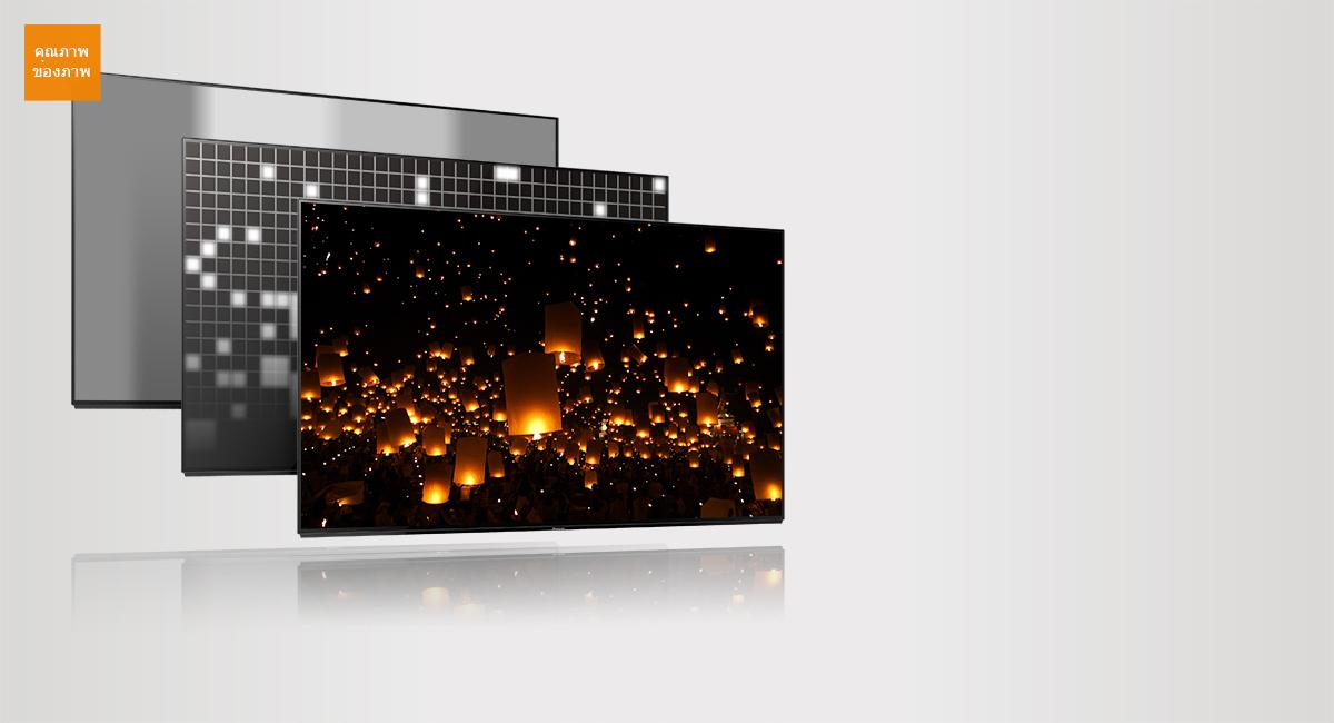 Panasonic Viera LED 4K TV รุ่น TH-55FX800T ขนาด 55 นิ้ว คุณภาพระดับพรีเมี่ยม