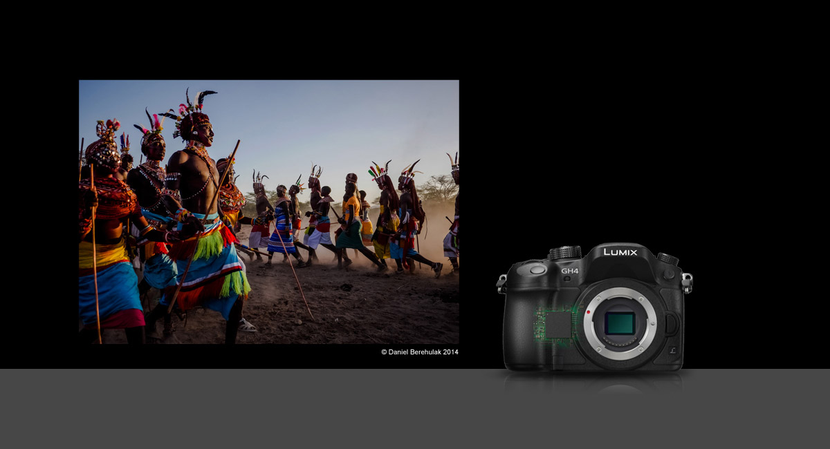 Panasonic DMC-GH4EG-K (Gehäuse) Digitale Systemkamera schwarz ...