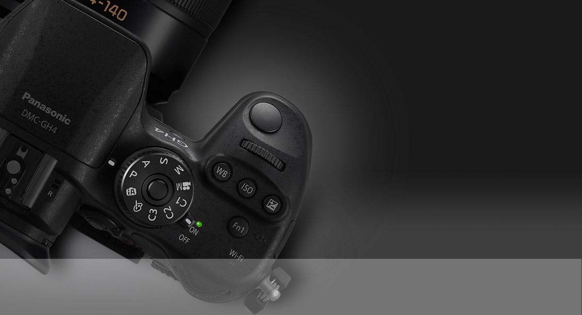 Panasonic DMC-GH4AEG-K (12-35mm) Digitale Systemkamera schwarz ...