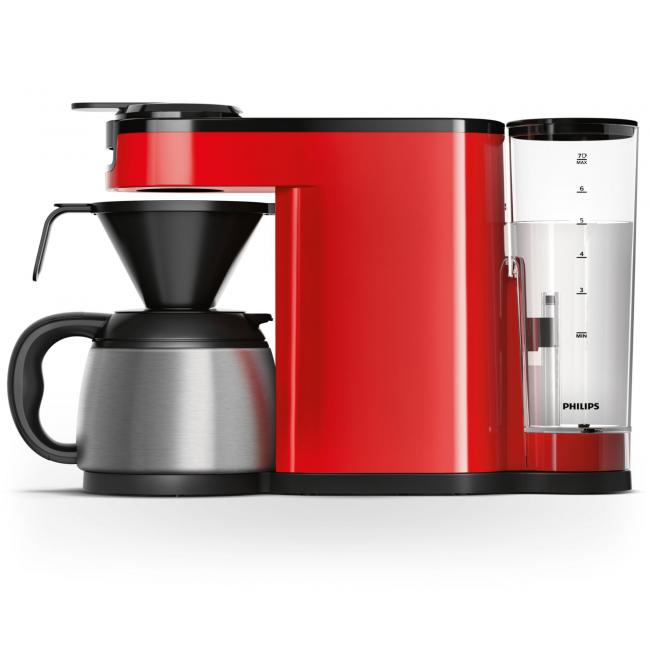 Cafetiere A Dosette Ou Capsule Philips Senseo Switch Hd7892 81 Rouge