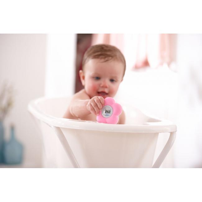 53780fc92 Termómetro para Baño y Habitación Philips Avent Flor rosa · Bebés ...