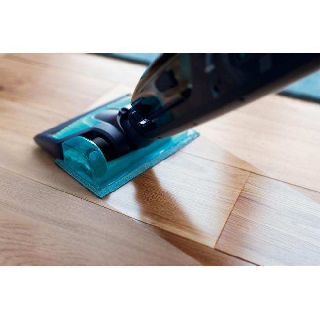philips powerpro aqua kabelloser staubsauger fc6401 01 2 in 1 sauger und mopp 18 v. Black Bedroom Furniture Sets. Home Design Ideas