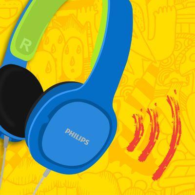 слушалки Philips SHK2000BL