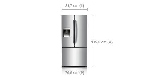 SAMSUNG FRIGO 3 PORTE RF67VBPN1 - Samsung - Monclick - RF67VBPN1/XES