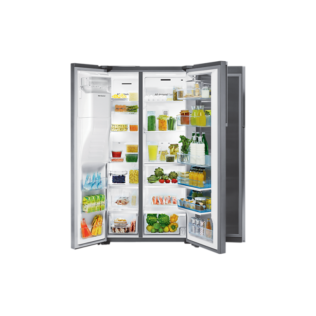 Samsung 36 in. Counter Depth 21.5 cu.ft Refrigerator with Fridge ...