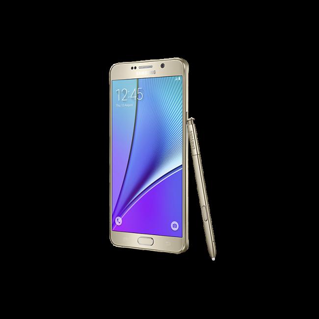 Samsung Galaxy Note 5 32GB Dual SIM Gold
