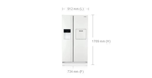 Refrigerateur Americain Samsung Rsa1ztwp Darty
