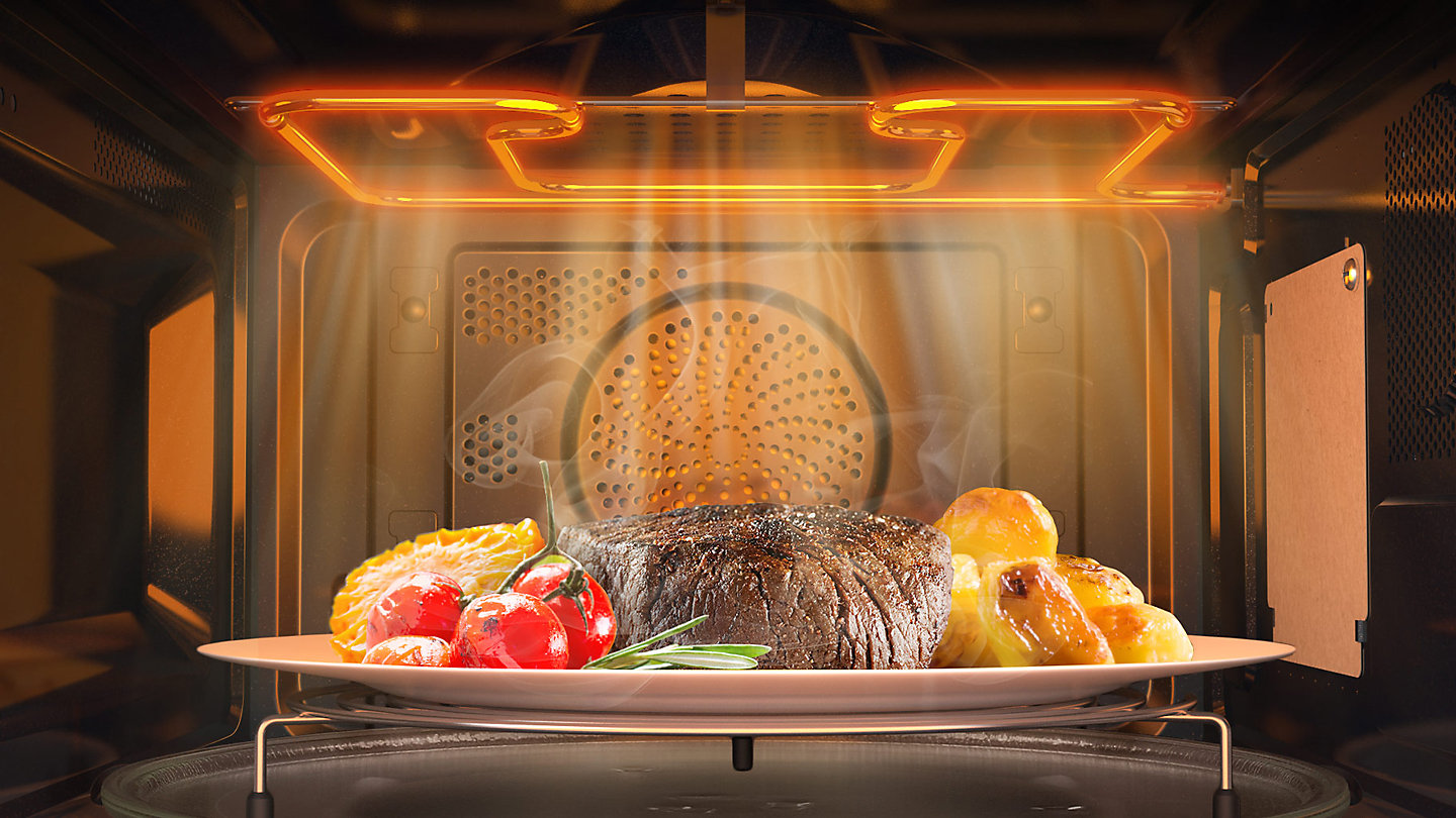 A Wide Grill Lets You To Cook Food More Evenly By Improving Coverage Up To  99