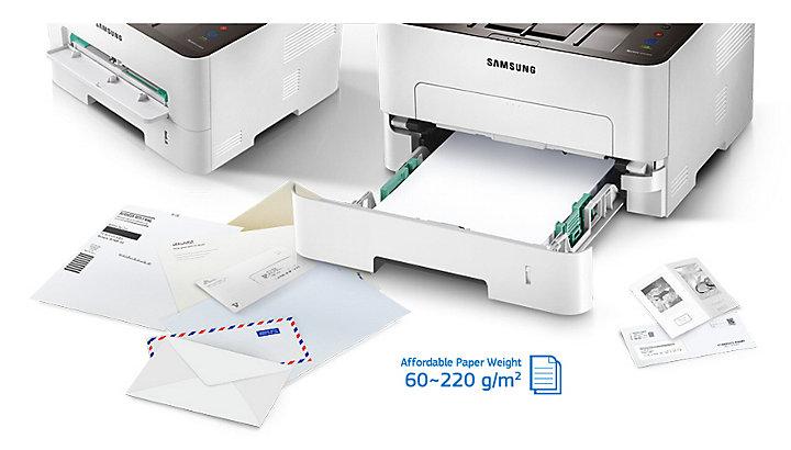 Samsung Xpress M 2835 DW S/W-Laserdrucker weiß/schwarz | EURONICS.de