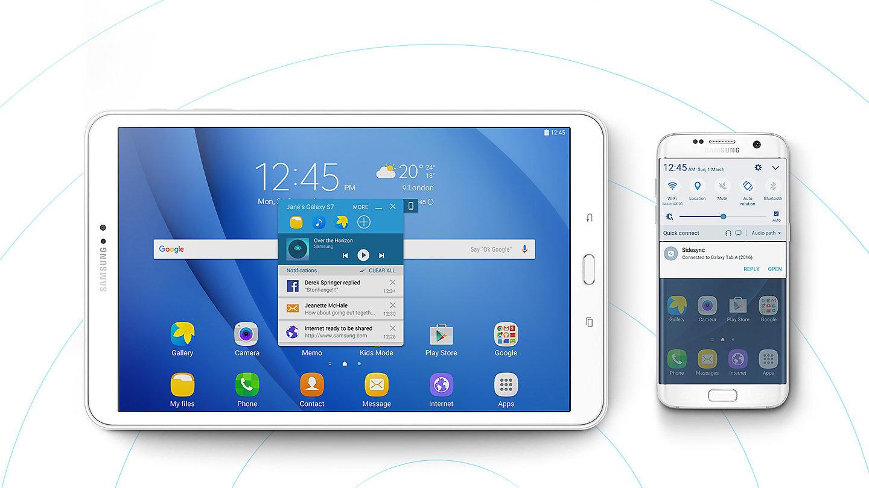 Tablet Samsung Galaxy Tab A 2016 2565 cm 101  WiFi 16 GB