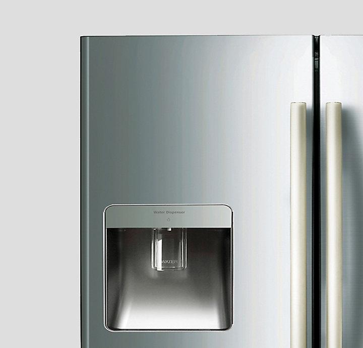 Samsung Srf583dls 583l French Door Refrigerator At The Good Guys