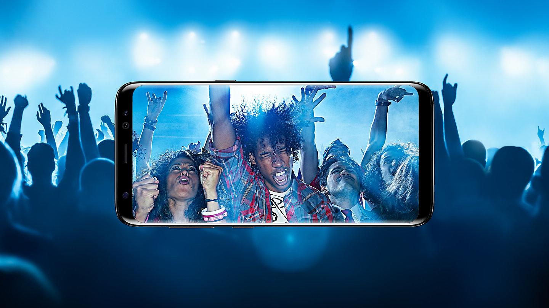 Tempat Jual Samsung Galaxy S8 Gold Garansi Resmi Sein Update 2018 Tas Anyaman Kulit Asli Chameo Couture Clucth Rafa Brown Cokelat Tua Plus Smartphone Midnight Black 64 Gb 4 Capture