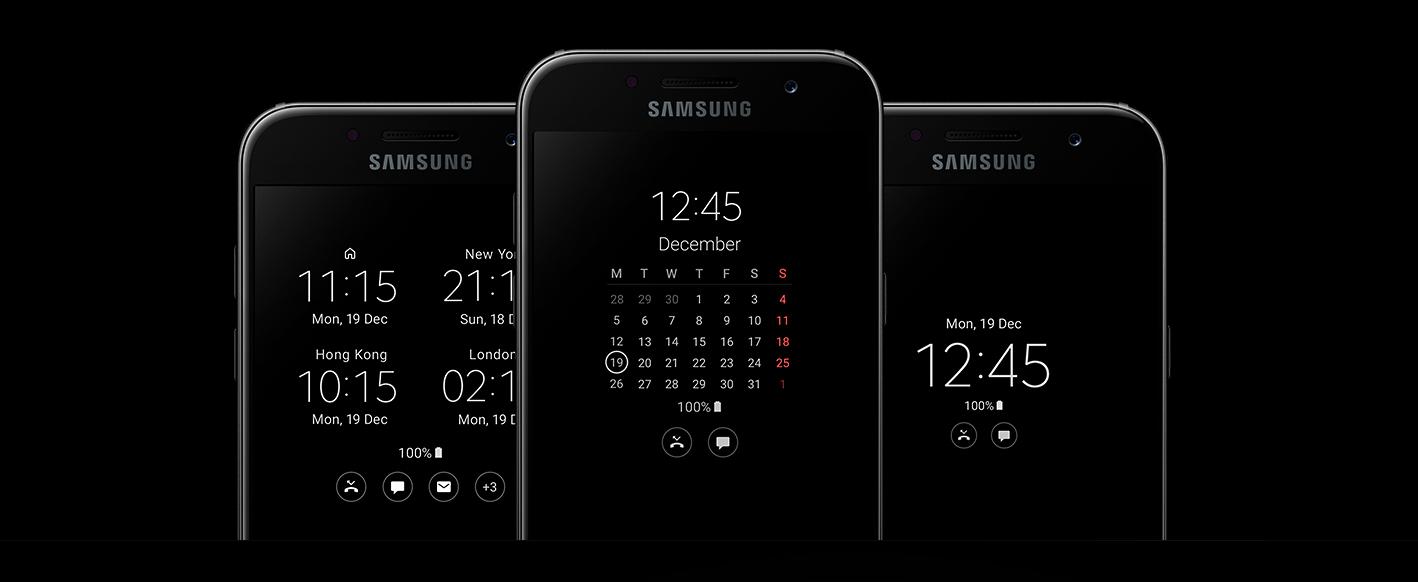 Jual Samsung Galaxy A3 2017 Sm A320 Smartphone Gold 16gb 2gb Keystone 3 B109e Garansi Resmi 1 Thn Informasi Penting Bisa Diketahui Tanpa Perlu Repot Menyalakan Layar Anda Fitur Always On Display Memungkinkan Untuk Melihat Waktu Dan