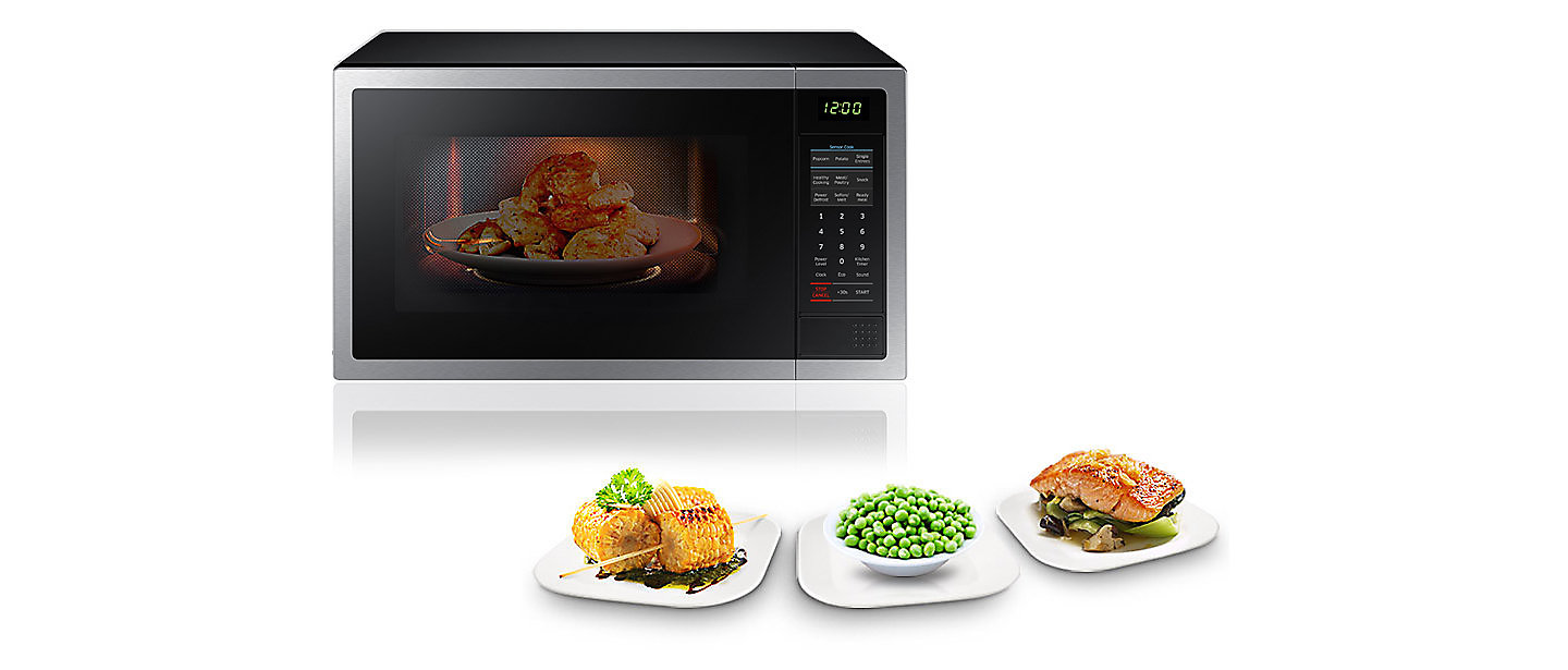 Jb Hi Fi Kitchen Appliances Jb Hi Fi Samsung Me6104st1 28l 1000w Microwave Oven S Steel