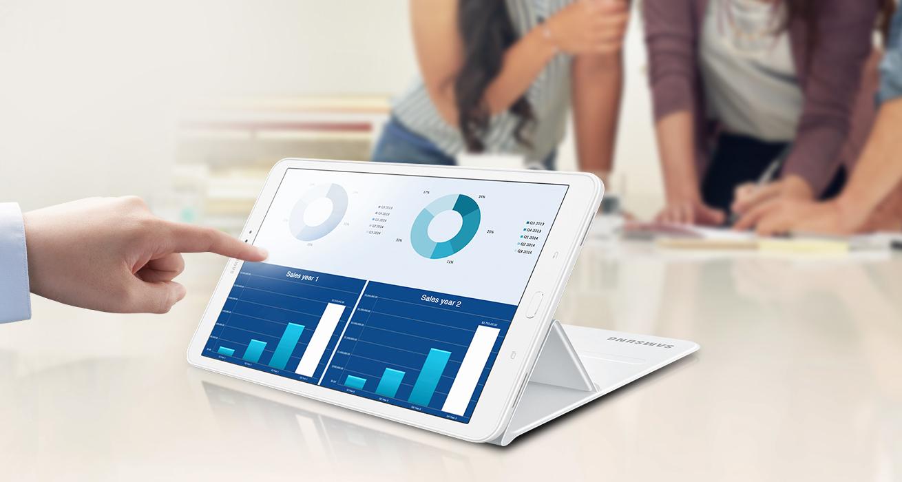 Samsung Galaxy Tab A 10 1 Wi-Fi 16GB - White_Model: SM-T580NZWAXSA