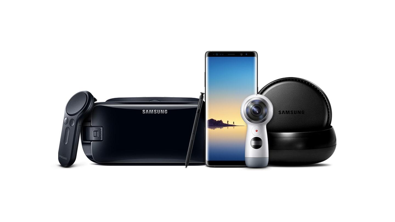 Samsung galaxy note 8 n950fz dourado champanhe smartphone o samsung dex samsung gear vr com comando e o samsung gear 360 so vendidos separadamente algumas funcionalidades da bixby podero no estar disponveis stopboris Image collections