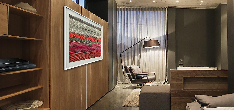 affordable accroche murale ultrafine mesur partir de la partie arrire du tv luespace peut varier. Black Bedroom Furniture Sets. Home Design Ideas